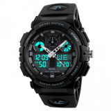 Ceas Barbatesc SKMEI CS880, curea silicon, digital watch, functie cronometru, alarma