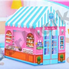 Cort de joaca copii 93 x 70 x 103 cm - tema cofetarie - candy shop