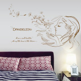 Cumpara ieftin Sticker decorativ, Dandelion 93 cm, 151STK