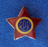 Insigna - Cuc - Element de coifura - R.P.R - RPR