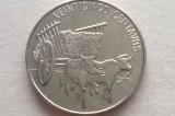 MONEDA 25 CENTAVOS 1991-REPUBLICA DOMINICANA, America Centrala si de Sud