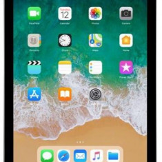 Tableta Apple iPad 9.7 (2018), Procesor Quad-Core 2.34GHz, IPS LCD Capacitive touchscreen 9.7inch, 2GB RAM, 32GB Flash, 8MP, Wi-Fi, 4G, iOS (Gri), 9.7 inch, 32 GB