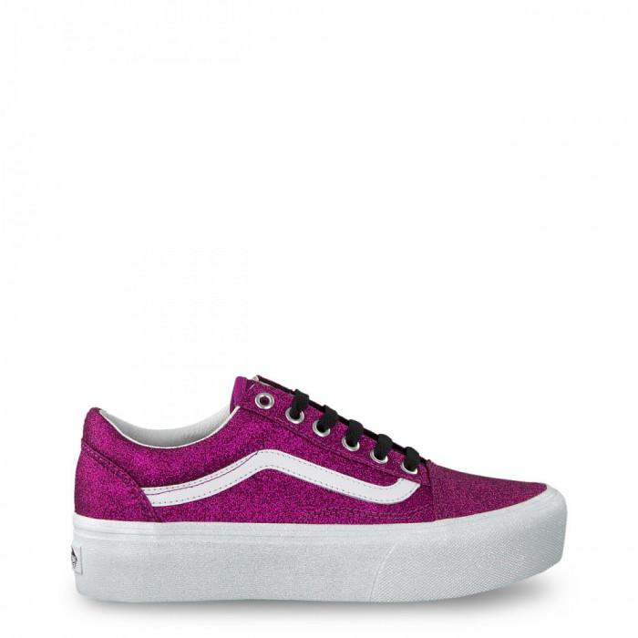 Pantofi sport femei Vans model OLD-SKOOL-PLATFORM, culoare Violet, marime 6 US