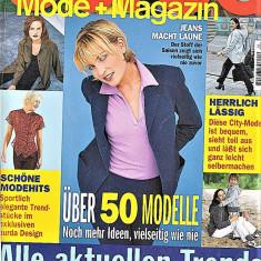 Burda revista de moda 1/1999 Insert limba romana 50 tipare
