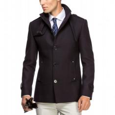 Palton Barbati Bleumarin Slim B108 SG005