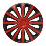 Set capace roti 16 inch Versaco Trend, Rosu si Negru