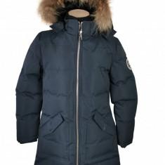 Geaca de iarna cu blana naturala Canadian Peak