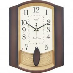 Ceas muzical de perete cu pendul? RIKON-12051