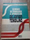 Elemente De Tehnologie A Aparatelor De Joasa Tensiune - Al. Vasilievici L. Moldovan ,527447