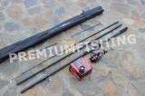 Lanseta Feeder Pokee Black Panther 3,9 Metri 120-180 Grame + Mulineta Fra 4000, Lansete Feeder si Piker