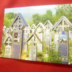 Ilustrata - Sapanta - Cimitirul Vesel - Parohia Ortodoxa Maramures