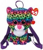 Rucsac de plus leopardul multicolor Dotty Ty