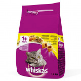 Cumpara ieftin Hrana uscata pentru pisici Whiskas, Pui, 1.4Kg