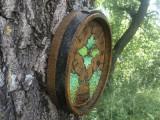 Ceas cuart german,in forma de capat de butoi