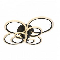 Lustra LED Circle Design Maro 8 Surse cu Telecomanda Dimabila