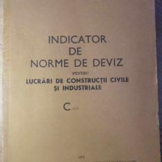 INDICATOR DE NORME DE DEVIZ PENTRU LUCRARI DE CONSTRUCTII CIVILE SI INDUSTRIALE
