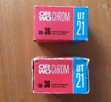 DD - Lot 2 buc film color ORWO Chrom 36 pozitii, UT 21, sigilate, vechi din 1992