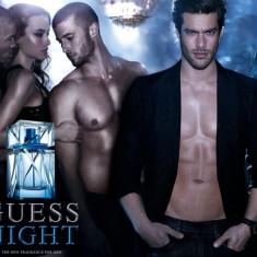 Guess Night Set (EDT 100ml + Shower Gel 200ml + Deo Spray 226ml) pentru Bărbați