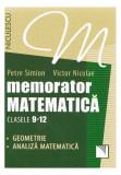 Memorator Matematică Clasele 9-12. Geometrie, Analiză matematică
