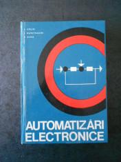 S. CALIN, I. DUMITRACHE, P. DIMO - AUTOMATIZARI ELECTRONICE foto
