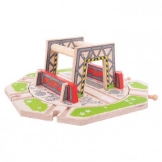 Platforma industriala rotativa din lemn - BigJigs