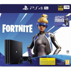 Consola Playstation 4 PRO,Fortnite Neo Versa Bundle, 1TB, Negru