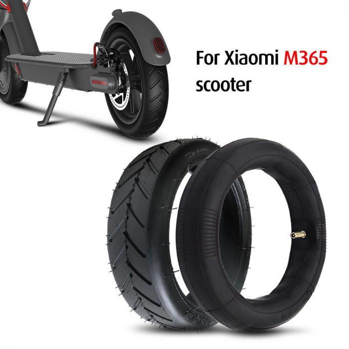 Pachet cauciuc + camera 8.5 inch pentru trotineta electrica Xiaomi Mijia M365