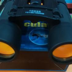 Binoclu profesional compact puternic binocular 10x25 - 101m/1000m