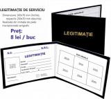 Legitimatii - diverse modele - cartonate sau tip ecuson