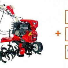 Motocultor Loncin LC1200 (3+1) 8CP cu roti C. + Plug + Rarita