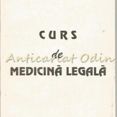Curs De Medicina Legala - Gheorghe Scripcaru