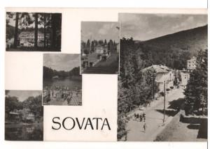 CPI B13801 CARTE POSTALA - SOVATA, mozaic, RPR