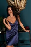 Cumpara ieftin LIV363-44 Lenjerie de noapte tip desu cu aspect satinat, L, S, XXL, LIVIA CORSETTI