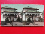 Bucuresti vedere stereoscopica Eforia Spitatelor Expozitia Nationala, Circulata, Printata