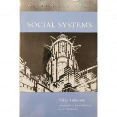 Social Systems - Niklas Luhmann