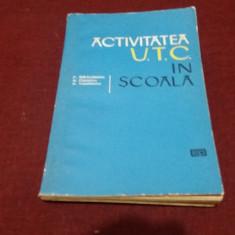 P BARBULESCU - ACTIVITATEA UTC IN SCOALA
