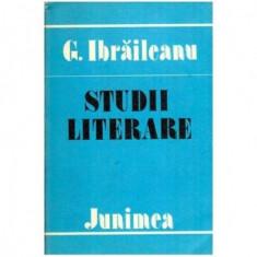 Studii literare