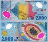 ROMANIA 2.000 lei 1999 UNC!!!