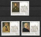 România - 1968 - LP 679 - Revoluția din anul 1848 - serie completă MNH, Nestampilat