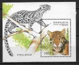 Benin - 1996 - Feline - coliță dantelată MNH (T61), Nestampilat