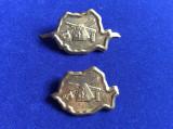 Insigne militare - Insigne România - Semne de armă - Grăniceri (variantă mare)