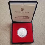 Moneda de argint ITALIA 500 lire 1990, Europa