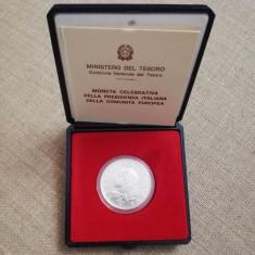 Moneda de argint ITALIA 500 lire 1990