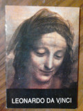 LEONARDO DA VINCI {mini-album de arta}      (expediere si 6 lei/gratuit) (4+1)