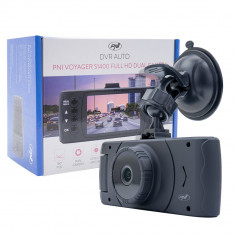 Resigilat : Camera auto DVR dual PNI Voyager S1400 Full HD 1080p cu display 2.7 in foto