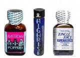 AMSTERDAM+HIGHRISE+JUNGLE JUICE Poppers, aroma camera, ORIGINAL, SIGILAT, rush, popers