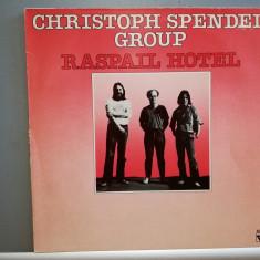 Chrisoph Spendel Group – Raspail Hotel (1981/Trion/RFG) - Jazz-Rock/Vinil/(M), Philips