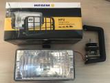 Proiector auto Wesem 12V 55W cu bec H3 , dimensiuni 180x86x82 mm. cu lumina de drum , 1 buc. - FARA GRILAJ Kft Auto