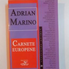 CARNETE EUROPENE de ADRIAN MARINO , 2003