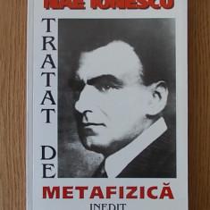 NAE IONESCU- TRATAT DE METAFIZICA, 1999